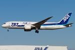 PINK_TEAM78さんが、成田国際空港で撮影した全日空 787-8 Dreamlinerの航空フォト(飛行機 写真・画像)