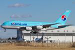 PINK_TEAM78さんが、成田国際空港で撮影した大韓航空 A380-861の航空フォト(写真)