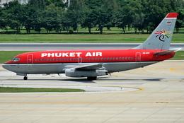 jun☆さんが、ドンムアン空港で撮影したプーケット航空 737-2B7/Advの航空フォト(飛行機 写真・画像)