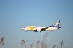 ひでかずさんが、成田国際空港で撮影したMIATモンゴル航空 737-8CXの航空フォト(飛行機 写真・画像)