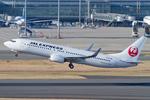 Scotchさんが、羽田空港で撮影したJALエクスプレス 737-846の航空フォト(飛行機 写真・画像)