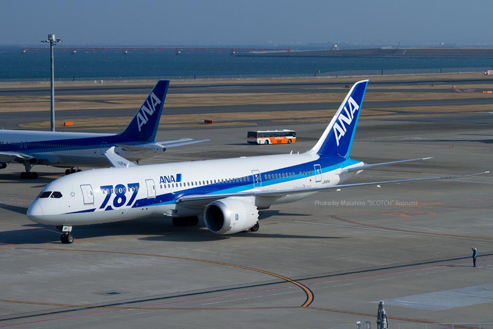 Scotchさんの全日空 Boeing 787-8 Dreamliner (JA811A) 航空フォト