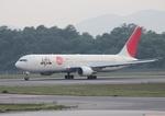 ふじいあきらさんが、広島空港で撮影した日本航空 767-346/ERの航空フォト(写真)