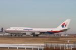 matsuさんが、成田国際空港で撮影したマレーシア航空 747-4H6の航空フォト(飛行機 写真・画像)