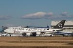 matsuさんが、成田国際空港で撮影したタイ国際航空 747-4D7の航空フォト(写真)
