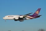 matsuさんが、成田国際空港で撮影したタイ国際航空 A380-841の航空フォト(写真)