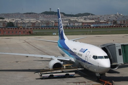 hkg blue skyさんが、大連周水子国際空港で撮影した全日空 737-781の航空フォト(飛行機 写真・画像)