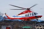 へりさんが、上奥富運動公園(埼玉県狭山市)で撮影した埼玉県防災航空隊 AW139の航空フォト(写真)