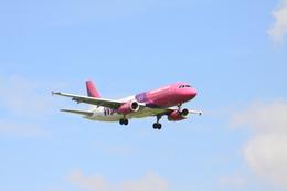 Booneさんが、フランクフルト・ハーン空港で撮影したウィズ・エア A320-233の航空フォト(飛行機 写真・画像)