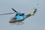 パンダさんが、成田国際空港で撮影した山梨県警察 412EPの航空フォト(飛行機 写真・画像)