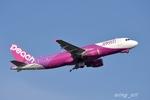 wing_oitさんが、福岡空港で撮影したピーチ A320-214の航空フォト(写真)