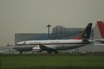 coconaruさんが、成田国際空港で撮影したタイ政府 737-4Z6の航空フォト(写真)
