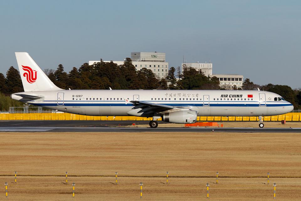 PINK_TEAM78さんの中国国際航空 Airbus A321 (B-6917) 航空フォト