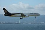 関西国際空港 - Kansai International Airport [KIX/RJBB]で撮影されたUPS航空 - UPS Airlines [5X/UPS]の航空機写真