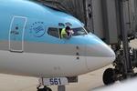 chalk2さんが、新潟空港で撮影した大韓航空 737-8B5の航空フォト(写真)