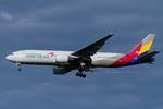 Scotchさんが、成田国際空港で撮影したアシアナ航空 777-28E/ERの航空フォト(写真)
