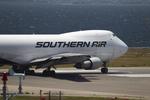 T.Sazenさんが、関西国際空港で撮影したサザン・エア 747-2B5F/SCDの航空フォト(写真)