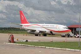 ぷのんさんが、シェムリアップ国際空港で撮影したロイヤル・クメール・エアラインズ 737-2H4/Advの航空フォト(飛行機 写真・画像)