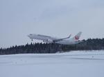 秋田空港 - Akita Airport [AXT/RJSK]で撮影されたJALエクスプレス - JAL Express [JC/JEX]の航空機写真