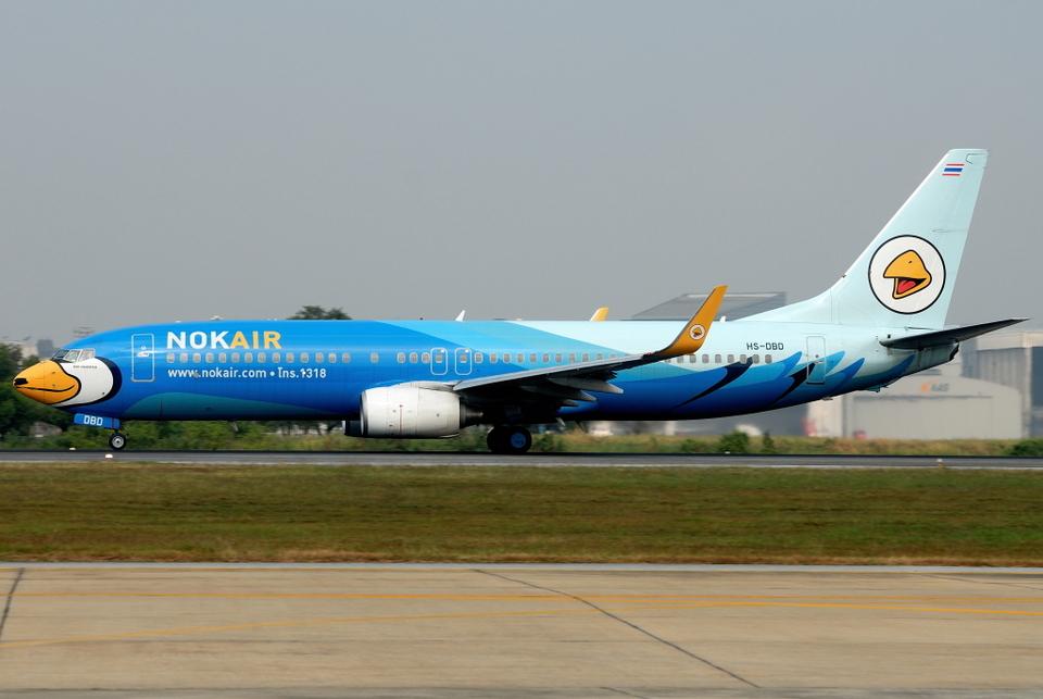 jun☆さんのノックエア Boeing 737-800 (hs-dbd) 航空フォト