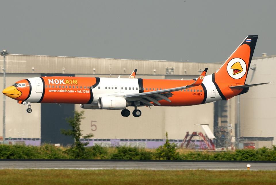 jun☆さんのノックエア Boeing 737-800 (hs-dbh) 航空フォト