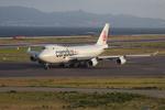 T.Sazenさんが、関西国際空港で撮影したカーゴルクス 747-4R7F/SCDの航空フォト(飛行機 写真・画像)