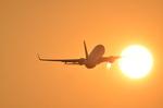 ひでかずさんが、熊本空港で撮影したソラシド エア 737-81Dの航空フォト(写真)