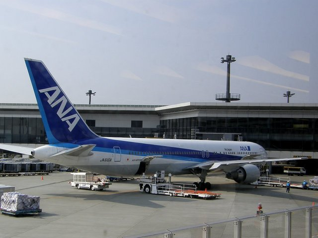 Kilo Mikeさんが、成田国際空港で撮影した全日空 767-381/ERの航空フォト(飛行機 写真・画像)