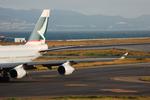 snow_shinさんが、関西国際空港で撮影したキャセイパシフィック航空 747-467の航空フォト(飛行機 写真・画像)