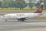 jun☆さんが、ドンムアン空港で撮影したトランスマイル・エア・サービス 737-209/Adv(F)の航空フォト(写真)