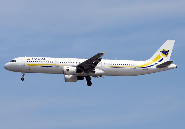 ミャンマー国際航空 Airbus A321...