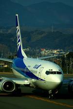 rjnsphotoclub-No.07さんが、静岡空港で撮影したANAウイングス 737-54Kの航空フォト(写真)