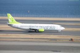 羽田空港 - Tokyo International Airport [HND/RJTT]で撮影されたソラシド エア - Solaseed Air [LQ/SNJ]の航空機写真