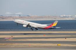 羽田空港 - Tokyo International Airport [HND/RJTT]で撮影されたアシアナ航空 - Asiana Airlines [OZ/AAR]の航空機写真