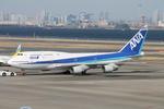 uhfxさんが、羽田空港で撮影した全日空 747-481(D)の航空フォト(写真)