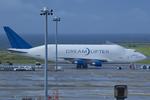 Scotchさんが、中部国際空港で撮影したボーイング 747-409(LCF) Dreamlifterの航空フォト(飛行機 写真・画像)