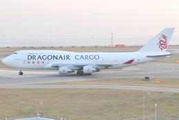 jun☆さんが、関西国際空港で撮影した香港ドラゴン航空 747-412(BCF)の航空フォト(飛行機 写真・画像)