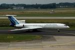 RUSSIANSKIさんが、デュッセルドルフ国際空港で撮影したシベリア航空 Tu-154Mの航空フォト(飛行機 写真・画像)