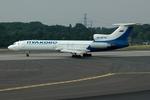 RUSSIANSKIさんが、デュッセルドルフ国際空港で撮影したプルコボ航空 Tu-154Mの航空フォト(飛行機 写真・画像)