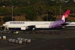 WING_ACEさんが、ダニエル・K・イノウエ国際空港で撮影したハワイアン航空 767-332の航空フォト(飛行機 写真・画像)
