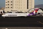 WING_ACEさんが、ダニエル・K・イノウエ国際空港で撮影したハワイアン航空 717-2BLの航空フォト(飛行機 写真・画像)