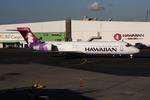 WING_ACEさんが、ダニエル・K・イノウエ国際空港で撮影したハワイアン航空 717-22Aの航空フォト(飛行機 写真・画像)