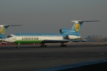 RUSSIANSKIさんが、ユジュニ空港で撮影したウズベキスタン航空 Tu-154B-2の航空フォト(写真)