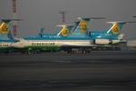RUSSIANSKIさんが、ユジュニ空港で撮影したウズベキスタン航空 Tu-154Mの航空フォト(写真)