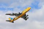 たろさんが、那覇空港で撮影した全日空 747-481(D)の航空フォト(写真)