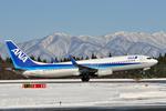 フリューゲルさんが、秋田空港で撮影した全日空 737-881の航空フォト(写真)