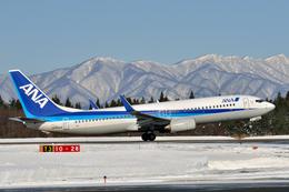 フリューゲルさんが、秋田空港で撮影した全日空 737-881の航空フォト(飛行機 写真・画像)