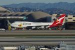 Willieさんが、ロサンゼルス国際空港で撮影したカンタス航空 747-438の航空フォト(写真)
