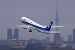 Lekiさんが、羽田空港で撮影した全日空 767-381の航空フォト(写真)
