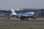 Lekiさんが、成田国際空港で撮影したKLMオランダ航空 747-406Mの航空フォト(飛行機 写真・画像)